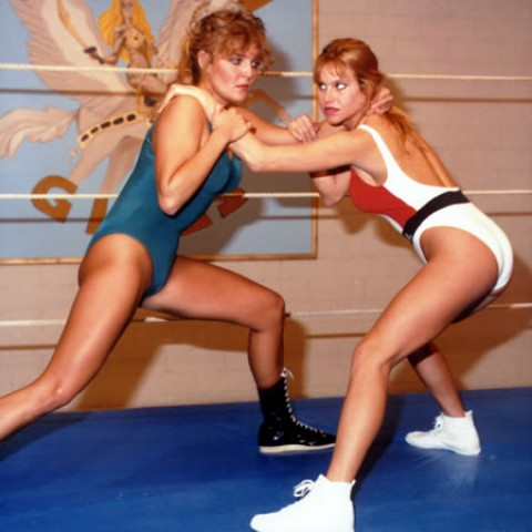 Amateur wrestling in pro style boots